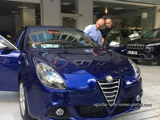 Serkan und '16 Giulietta MA TCT
