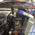Alfa Romeo 156 2,4 JTD 10V FMIC Umbau Mit LLK und Verrohrung + BMC Luftfilter
