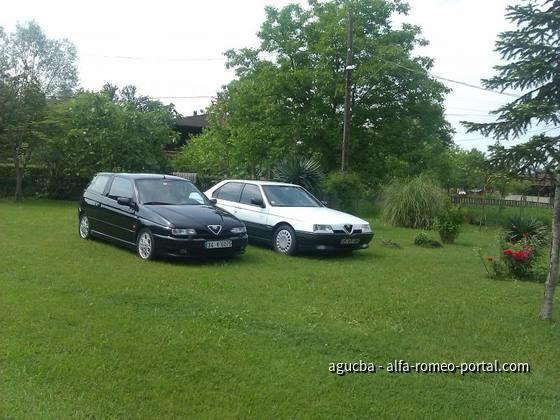 Serkan und '97 145 QV und '94 164 T. Spark