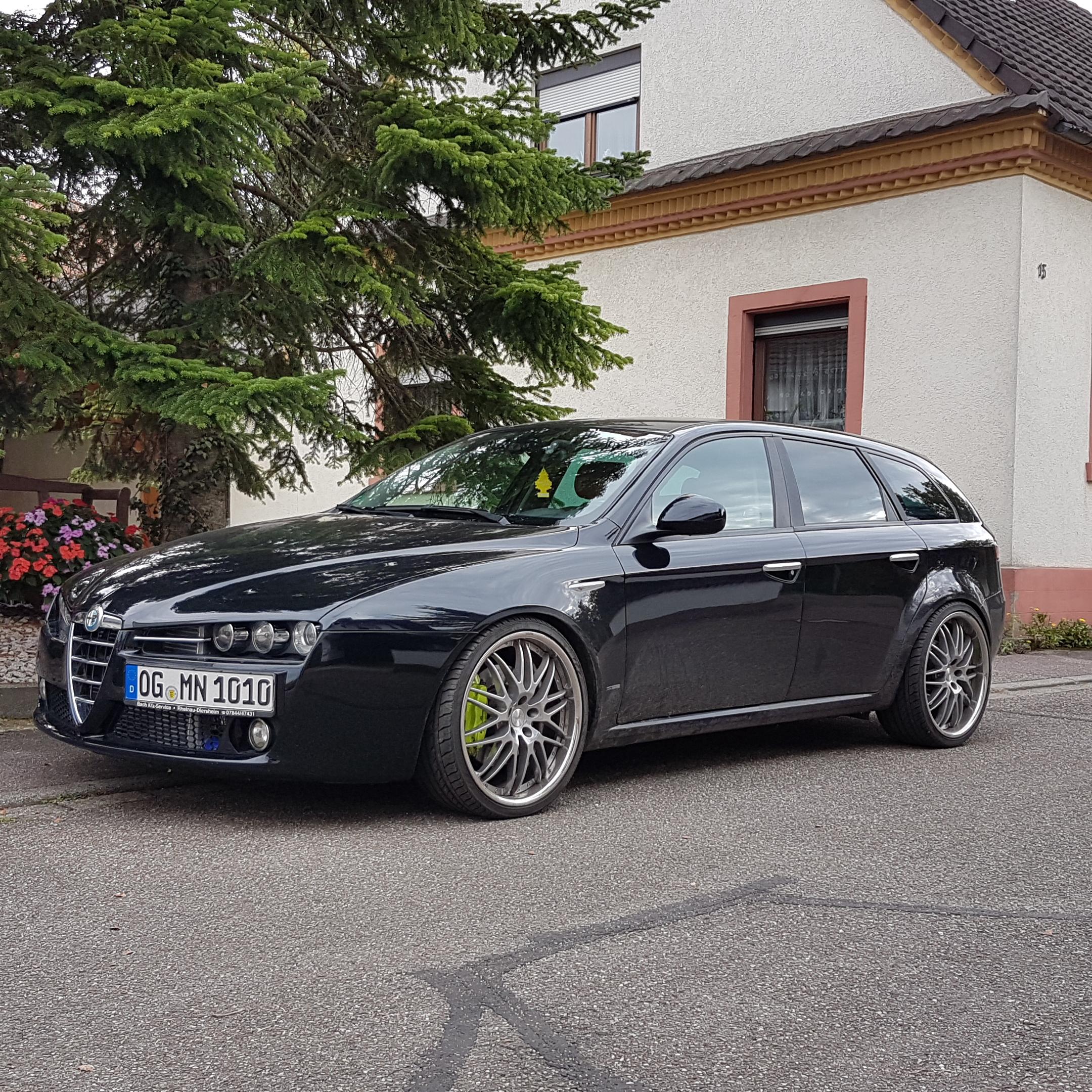 Alfa Romeo 159 2,4 JTDm Sportwagon Tuned