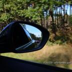 Ausfahrt im Rückspiegel